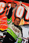 Nov 07, 2009; 10:12:58 PM; Concord, NC, USA; The third-annual World of Outlaws World Finals racing at The Dirt Track @ Lowe's Motor Speedway.  Mandatory Credit: (thesportswire.net)