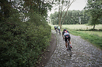 Edmund Bradbury (GBR/NFTO) over the cobbles<br /> <br /> 91st Schaal Sels 2016
