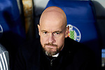 Erik ten Hag coach of AFC Ajax during UEFA Europa League match between Getafe CF and AFC Ajax at Coliseum Alfonso Perez in Getafe, Spain. February 20, 2020. (ALTERPHOTOS/A. Perez Meca)