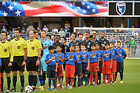 San Jose, CA - Saturday June 24, 2017: San Jose Earthquakes  during a Major League Soccer (MLS) match between the San Jose Earthquakes and Real Salt Lake at Avaya Stadium.