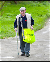 BNPS.co.uk (01202 558833)<br /> Pic: LauraJones/BNPS<br /> <br /> Ted Ingram delivering the Dorset Echo to homes in Winterborne Monkton, Dorset.<br /> <br /> The world's oldest paperboy is planning his last round after 71 years of delivering his beloved local newspaper.<br /> <br /> Tireless Ted Ingram, 93, took up the part-time job when he was just 22 as an additional income but loved it so much he never gave it up.<br /> <br /> During his career he has dropped more than 500,000 newspapers through letterboxes in the village of Winterborne Monkton, near Dorchester, Dorset.