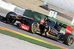 Entrenamientos de Formula 1 en Cheste