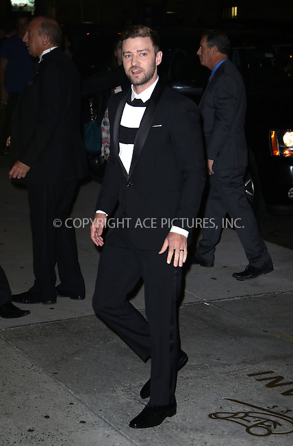 WWW.ACEPIXS.COM<br /> <br /> October 22 2015, New York City<br /> <br /> Justin Timberlake arriving at the 2015 Fashion Group International's Night Of Stars at Cipriani Wall Street on October 22, 2015 in New York City.<br /> <br /> By Line: Zelig Shaul/ACE Pictures<br /> <br /> <br /> ACE Pictures, Inc.<br /> tel: 646 769 0430<br /> Email: info@acepixs.com<br /> www.acepixs.com