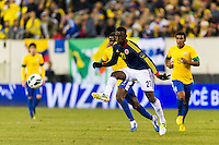 Jackson Martinez (21) of Colombia. Brazil (BRA) and Colombia (COL) played to a 1-1 tie during international friendly at MetLife Stadium in East Rutherford, NJ, on November 14, 2012.