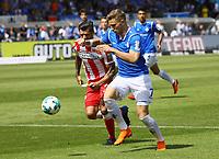 Felix Platte (SV Darmstadt 98) setzt sich durch - 28.04.2018: SV Darmstadt 98 vs. 1. FC Union Berlin, Stadion am Boellenfalltor, 32. Spieltag 2. Bundesliga
