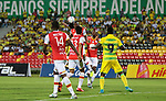 Atlético Bucaramanga venció como local 2-1 a Independiente Santa Fe. Fecha 13 Liga Águila II-2017.