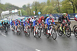 The peloton during another wet Stage 4 of the Tour of the Basque Country 2019 running 163.6km from Vitoria-Gasteiz to Arrigorriaga, Spain. 11th April 2019.<br /> Picture: Colin Flockton | Cyclefile<br /> <br /> <br /> All photos usage must carry mandatory copyright credit (&copy; Cyclefile | Colin Flockton)