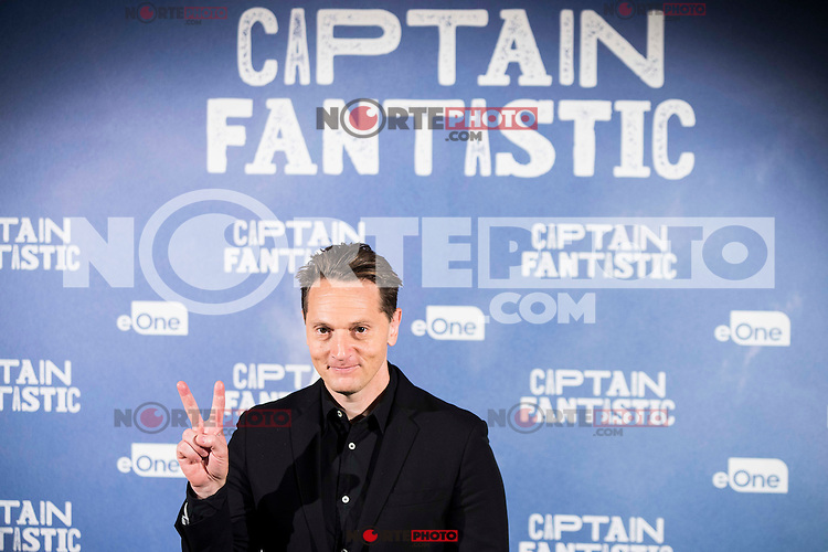 """XXX attends to the presentation of the film """"Captain Fantastic"""" at Ursa Hotel in Madrid. September 11, Spain. 2016. (ALTERPHOTOS/BorjaB.Hojas) NORTEPHOTO.COM"""