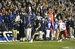 6 Luke Staley scrores a 30 Yard TD to beat Utah.<br /> BYU beats Utah 24-21 to win the Mountain West Conference Championship Title. <br /> <br /> Nov 17, 2001<br /> <br /> BYU-24<br /> UT-21                               <br /> <br /> Photo by Jaren Wilkey/BYU<br /> <br /> Copyright BYU Photo 2005<br /> All Rights Reserved<br /> photo@byu.edu   (801)422-7322