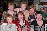 Friends enjoying their Christmas  party at Bella Bia, Tralee  on Saturday Night..Front from Left: Helen Hehir, Mags Miller, Joanne, Kelliher..Back Row: Gretta Wyles, Mary Griffin and Mary Lane.   Copyright Kerry's Eye 2008