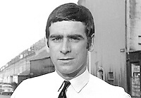 Ritchie McGladdery, candidate, independent, North Down, UK General Election, 18th June 1970, 197006000191b<br /> <br /> Copyright Image from Victor Patterson, 54 Dorchester Park, Belfast, UK, BT9 6RJ<br /> <br /> t1: +44 28 9066 1296<br /> t2: +44 28 9002 2446<br /> m: +44 7802 353836<br /> <br /> e1: victorpatterson@me.com<br /> e2: victorpatterson@gmail.com<br /> <br /> IMPORTANT: My Terms and Conditions of Business are at www.victorpatterson.com