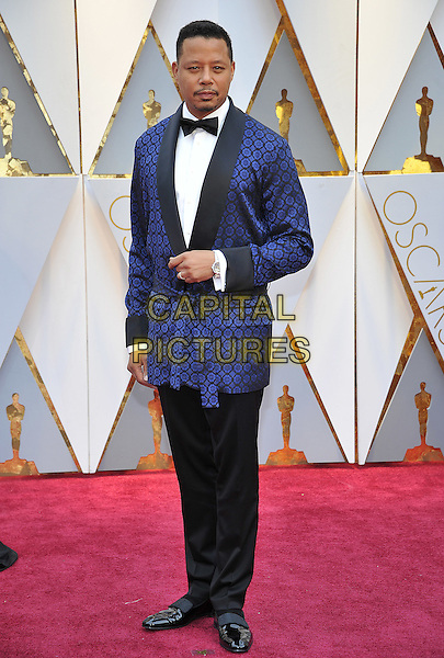 HOLLYWOOD - FEBRUARY 26: Terrence Howard attends the 89th Annual Academy Awards at the Dolby Theatre on February 26, 2017 in Hollywood, California. <br /> CAP/MPI99<br /> &copy;MPI99/Capital Pictures