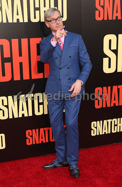 "10 May 2017 - Westwood, California - Paul Feig. ""Snatched"" World Premiere held at the Regency Village Theatre. Photo Credit: AdMedia"