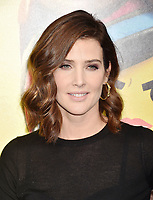 WESTWOOD, CA - FEBRUARY 02: Cobie Smulders attends the Premiere Of Warner Bros. Pictures' 'The Lego Movie 2: The Second Part' at Regency Village Theatre on February 2, 2019 in Westwood, California.<br /> CAP/ROT/TM<br /> &copy;TM/ROT/Capital Pictures