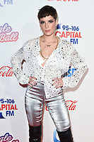 LONDON, UK. December 08, 2018: Halsey at Capital's Jingle Bell Ball 2018 with Coca-Cola, O2 Arena, London.<br /> Picture: Steve Vas/Featureflash