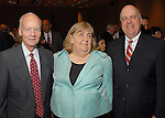 Richard Huff, Cindy Clifford and Wayne Klotz at the City of Houston's Birthday Bash at the George R. Brown Convention Center Tuesday Aug. 19,2008.(Dave Rossman/For the Chronicle)