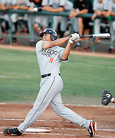 Stefen Romero, Oregon State Beavers.Photo by:  Bill Mitchell/Four Seam Images.