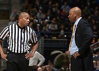 Berkeley, CA - January 14, 2015: California Golden Bears' 59-69 loss against Stanford Cardinal during NCAA Men's Basketball game at Haas Pavilion.