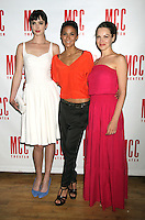 June 14 , 2012 Krysten Ritter, Emmanuelle Chriqui, Tammy Blanchard attends the MCC Theater's benefit reading of The Heart Of The Matter afterparty  at the Ramscale in New York City. &copy; RW/MediaPunch Inc. NORTEPHOTO.COM<br />