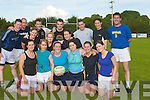 TAG: Playing in the Tralee Rugby Club Tag Rugby on Wednesday evenin at Tralee Rigby Club: Catriona O'Callaghan, Jane O'Halloran, Nora Kissane, Deirdre O'Halloran, Fiona Martin, Marie Keane, Julie O'Sullivan, Sheila Fleming, Antonia Burke, James Pierse, Joanne Gollan, Chris Dermody, Tony Corridon, Declan Concannon, Tim Larkin and Declan Murphy.....