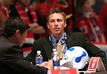 12 January 2007: . The 2007 MLS SuperDraft was held in the Indianapolis Convention Center in Indianapolis, Indiana during the National Soccer Coaches Association of America's annual convention.