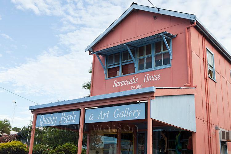 Historic Saranealis House.  Thursday Island, Torres Strait Islands, Queensland, Australia