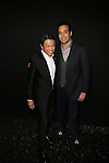 Zang Toi and Mohammed Al Turki Backstage at Zang Toi Spring 2014 Fashion Show Held During Mercedes Benz Fashion Week NY