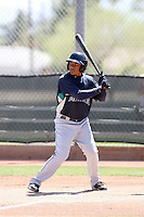 Ezequiel Carrera, Seattle Mariners 2010 minor league spring training..Photo by:  Bill Mitchell/Four Seam Images.