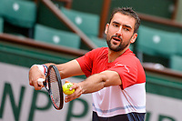 Marin Cilic of Croatia during Day 3 for the French Open 2018 on May 29, 2018 in Paris, France. (Photo by Baptiste Fernandez/Icon Sport)