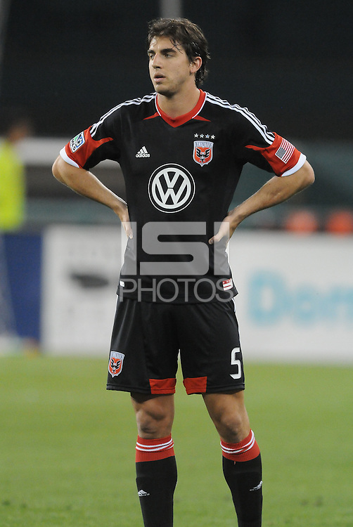 D.C. United defender Dejan Jakovic (5)  D.C. United defeated Toronto FC 3-1 at RFK Stadium, Saturday May 19, 2012.