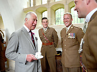 Prince Charles at Memorial Service to Mark 60th Anniversary of Welsh Cavalry