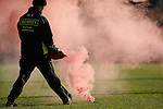 Smokebomb about to be removed