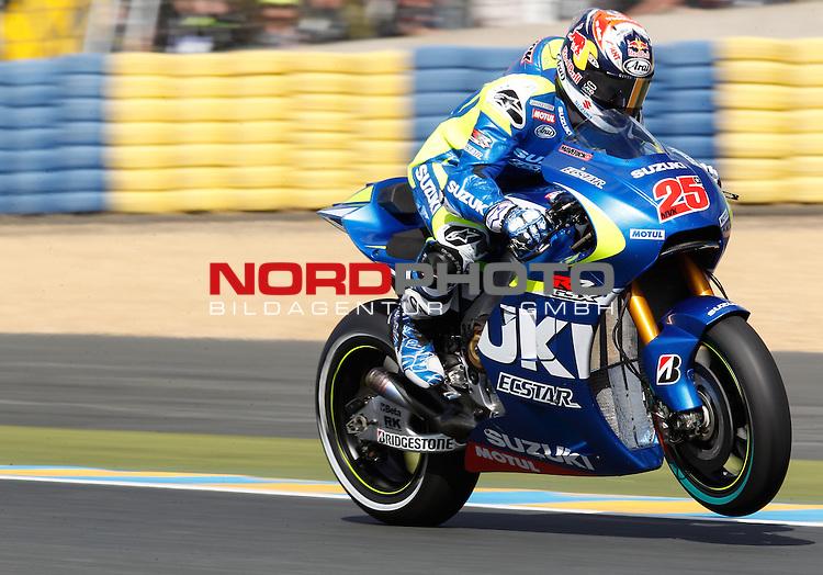 Monster Energy Grand Prix de France in Le Mans 14.-17.05.2015, Free Practice<br /> <br /> 25 Maverick Vi&ntilde;ales / Spanien<br /> <br /> Foto &copy; nordphoto / FSA
