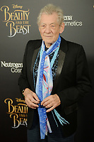 www.acepixs.com<br /> March 13, 2017  New York City<br /> <br /> Ian McKellen arriving at the New York special screening of Disney's live-action adaptation 'Beauty and the Beast' at Alice Tully Hall on March 13, 2017 in New York City.<br /> <br /> Credit: Kristin Callahan/ACE Pictures<br /> <br /> Tel: 646 769 0430<br /> Email: info@acepixs.com