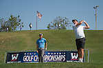 April 13, 2015; Ventura, CA, USA; Loyola Marymount Lions golfer Braden Baer during the WCC Golf Championships at Saticoy Country Club.