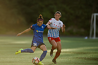 Seattle, WA - Wednesday, June 28, 2017: Nahomi Kawasumi during a regular season National Women's Soccer League (NWSL) match between the Seattle Reign FC and the Chicago Red Stars at Memorial Stadium.