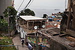 Vidigal, a pacified favela in the South Zone, has become a popular community for new businesses and foreigners to live, Rio de Janeiro, Brazil, on Thursday, May 23, 2013.