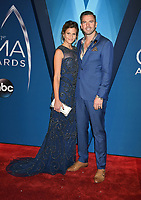 08 November 2017 - Nashville, Tennessee - Marielle Jaffe and TK McKamy. 51st Annual CMA Awards, Country Music's Biggest Night, held at Bridgestone Arena. <br /> CAP/ADM/LF<br /> &copy;LF/ADM/Capital Pictures