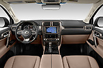 Stock photo of straight dashboard view of 2020 Lexus GX - 5 Door SUV Dashboard