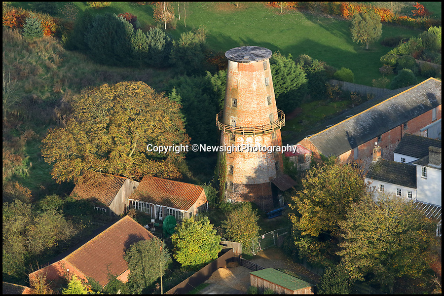 """BNPS.co.uk (01202 558833)Pic: NewsightPhotography/BNPS<br /> <br /> A campaign to save one of Britain's tallest windmills is in a race against time after the building was put up for auction.<br /> <br /> Campaigners hoping to buy Sutton Mill in North Norfolk and create a millwriting school that would safeguard the future of all UK mills have just seven days left to raise £85,000 so they can put in a bid.<br /> <br /> Steve Temple and Jonathan Cook set up the National Millwriting Centre, a community interest company, to create a skills programme and school to train apprentices and had set their sights on Sutton Mill as the ideal spot.<br /> <br /> Over the last year they have been working towards buying the mill and surrounding grounds and had already secured £450,000 in loans and grants to buy the site.<br /> <br /> But they needed to raise £150,000 in working capital before they can get that money and were working towards this when they were caught off-guard on March 1 as the current owner put the property up for auction """"without warning""""."""