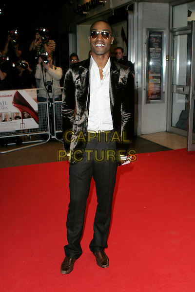 "SIMON WEBBE.""The Devil Wears Prada"" screening arrivals.Odeon West End cinema, Leicester Square.London England 21st October 2006.Ref: AH.full length sunglasses.www.capitalpictures.com.sales@capitalpictures.com.©Adam Houghton/Capital Pictures."