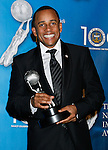 LOS ANGELES, CA. - February 12: Actor Hill Harper poses in the press room for the 40th NAACP Image Awards at the Shrine Auditorium on February 12, 2009 in Los Angeles, California.