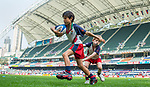 Mini-rugby on Day 1 of the Cathay Pacific / HSBC Hong Kong Sevens 2013 at Hong Kong Stadium, Hong Kong. Photo by Aitor Alcalde / The Power of Sport Images