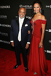 Honoree Berry Gordy and Eskedar Gobeze Attend BET Honors 2014 Honoring The Queen of Soul, Aretha Franklin, Motown Records Founder and Creator of the MOTOWN THE MUSICAL, Berry Gordy, American Express CEO & Chairman, Ken Chenault, Visual Artist Carrie Mae Weems and Entertainment Trailblazer Ice Cube. Hosted by Actor and Comedian, Wayne Brady Held at Warner Theater in Washington, D.C.