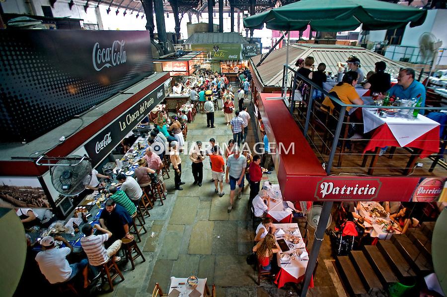 Mercado Del Puerto em Montevidéu. Uruguai. 2009. Foto de Caetano Barreira.