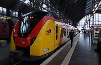 Bahn der Hessischen Landesbahn - Frankfurt 14.02.2020: Duplo Liebesreise zum Valentinstag nach Paris