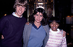Philip McKeon, Nancy McKeon and Kim Fields on December 3, 1981 in New York City.