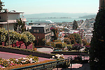 Lombard Street is an east–west street in San Francisco, California. It is famous for having a steep, one-block section that consists of eight tight hairpin turns. The street was named after Lombard Street in