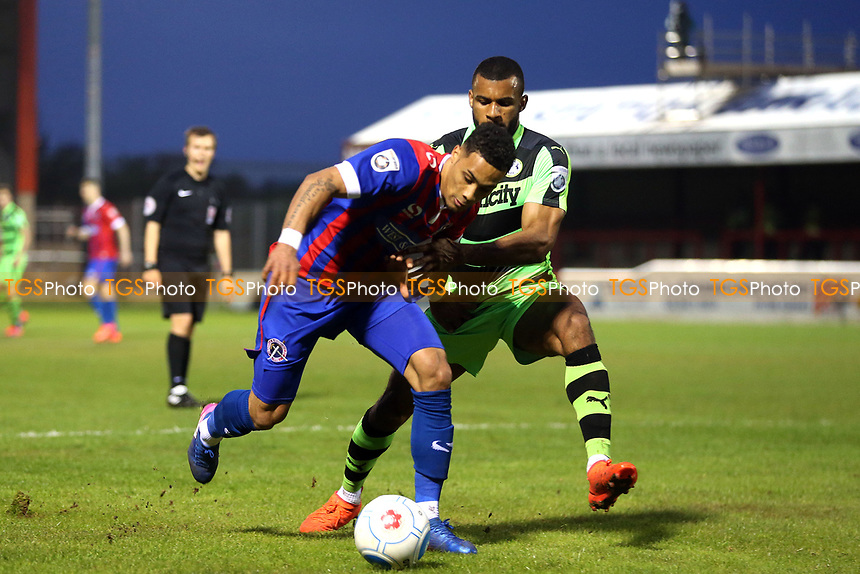 Corey Whitely of Dagenham and Redbridge during Dagenham & Redbridge vs Forest Green Rovers, Vanarama National League Play-Off Semi-Final Football at the Chigwell Construction Stadium on 4th May 2017