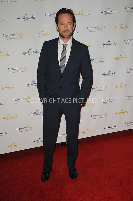 WWW.ACEPIXS.COM . . . . .  ....January 14 2012, LA....Actor Luke Perry arriving at the 2012 TCA winter press tour - Hallmark evening gala held at the Tournament House on January 14, 2012 in Pasadena, California....Please byline: PETER WEST - ACE PICTURES.... *** ***..Ace Pictures, Inc:  ..Philip Vaughan (212) 243-8787 or (646) 679 0430..e-mail: info@acepixs.com..web: http://www.acepixs.com
